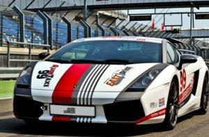 Auf der Rennstrecke Lamborghini Gallardo fahren