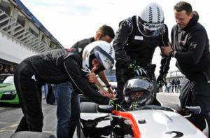 Beim Renntaxi bzw. Formel Rennwagen mitfahren