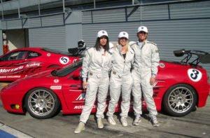 Ferrari selber auf der Rennstrecken in Südeuropa fahren