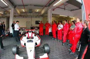 Mit Formel Rennwagen selber fahren auf dem Nürburgring